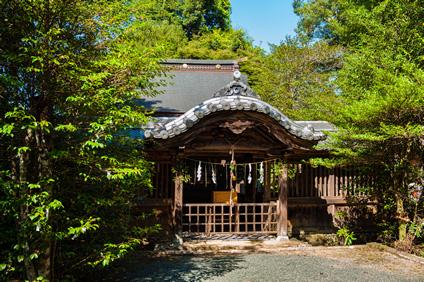 文政3年(1820年)創建の三祖神社